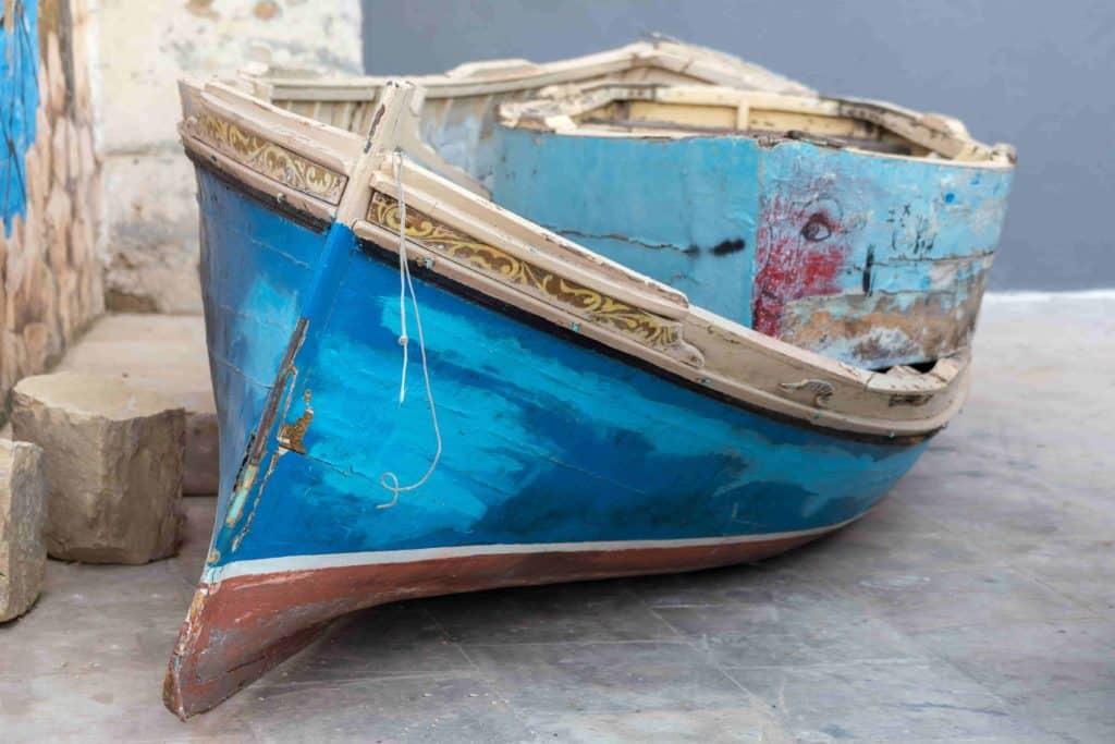 sinistre avec bateau de location